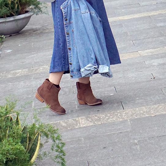 淘寶棕色短靴穿搭 11.jpg