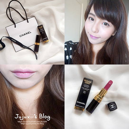 Chanel 唇膏 #454 Jean 00.jpg