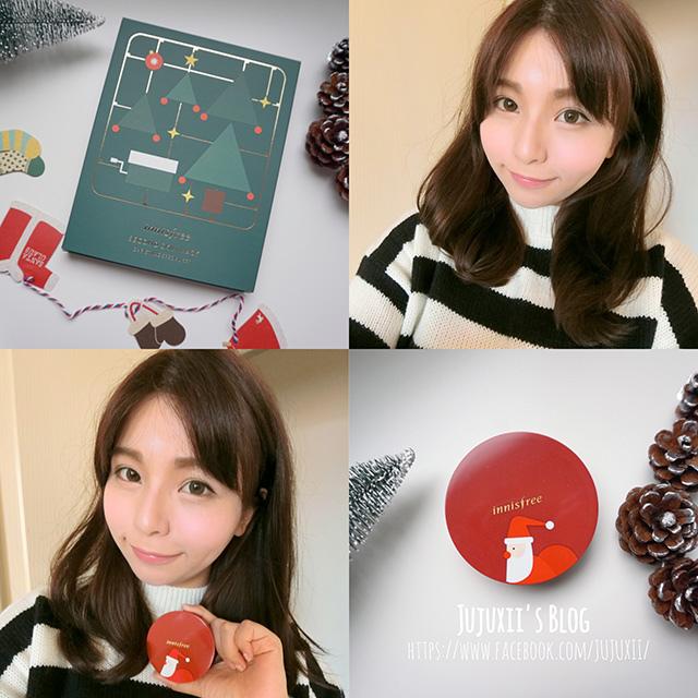 Innisfree Limited edition聖誕限量氣墊粉餅 00.jpg