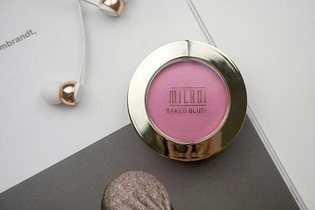 Milani Baked Blush 烘培腮紅 #10 delizioso pink 01.JPG