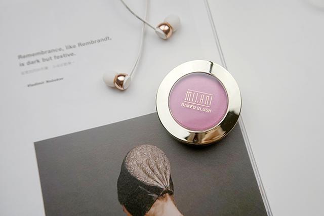 Milani Baked Blush 烘培腮紅 #10 delizioso pink 04.JPG