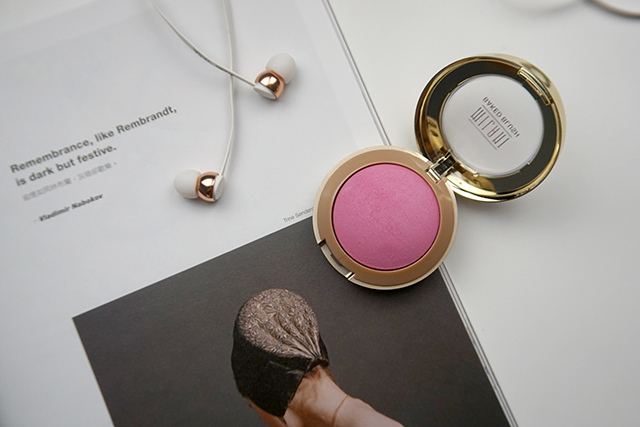 Milani Baked Blush 烘培腮紅 #10 delizioso pink 07.JPG