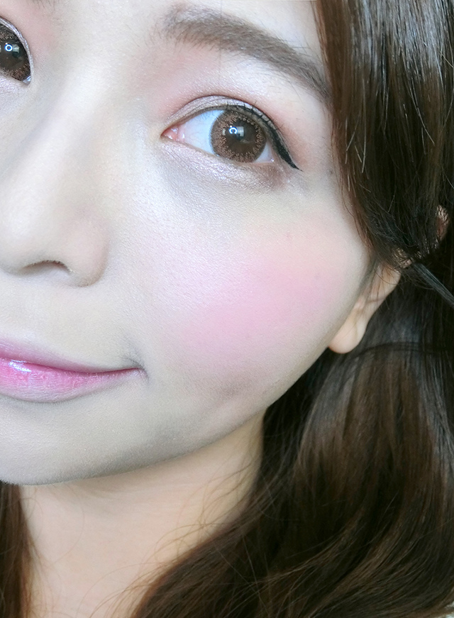 Milani Baked Blush 烘培腮紅 #10 delizioso pink 17.JPG