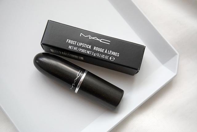MAC lipstick霧幻性感唇膏Lavender Jade &閃亮星澤唇膏Angel 01.JPG