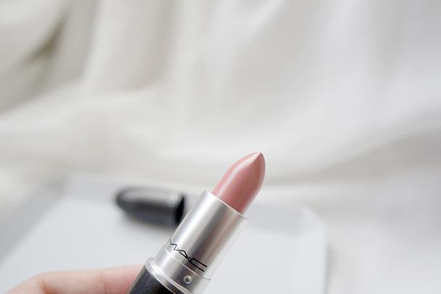MAC lipstick霧幻性感唇膏Lavender Jade &閃亮星澤唇膏Angel 08.JPG