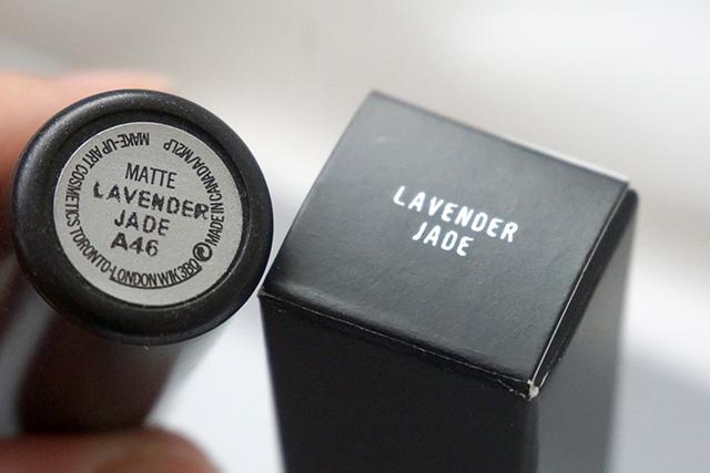 MAC lipstick霧幻性感唇膏Lavender Jade &閃亮星澤唇膏Angel 15.JPG