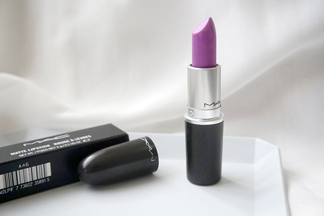MAC lipstick霧幻性感唇膏Lavender Jade &閃亮星澤唇膏Angel 16.JPG