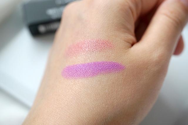 MAC lipstick霧幻性感唇膏Lavender Jade &閃亮星澤唇膏Angel 18-2.JPG