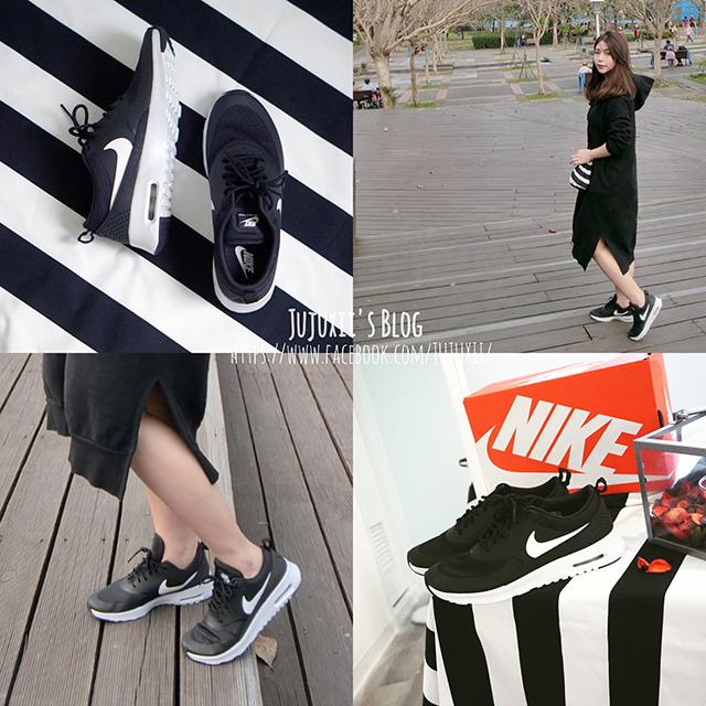 Nike Air Max Thea 黑x白色 休閒慢跑鞋 00.jpg