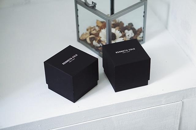 Kenneth Cole手錶  黑色白色男女對錶 01.jpg