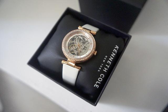 Kenneth Cole手錶  黑色白色男女對錶 06.JPG