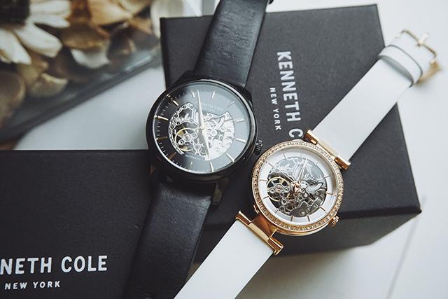 Kenneth Cole手錶  黑色白色男女對錶 34.jpg