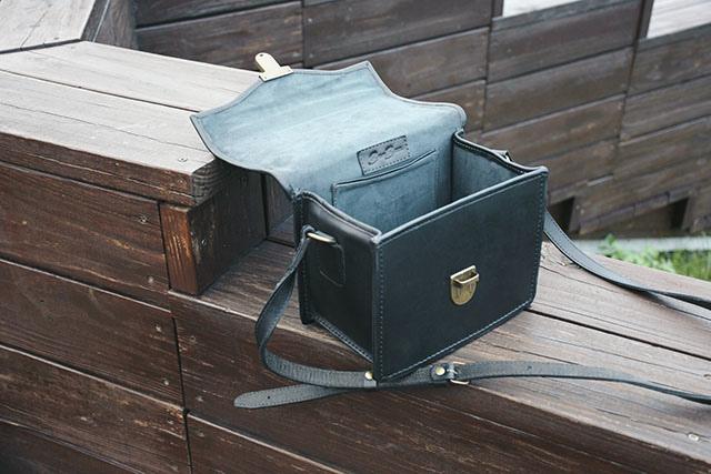 BEARA BEARA CAMINO BLACK 真皮手工相機包 折扣碼15.JPG