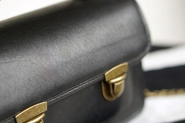 BearaBeara SANTA ANNA MINI BLACK 真皮包包11.JPG