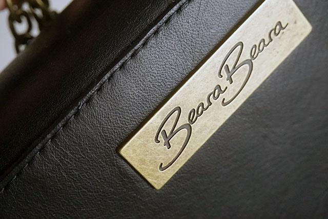 BearaBeara SANTA ANNA MINI BLACK 真皮包包15.JPG