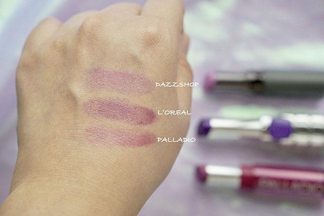 DAZZSHOP .L%5COREAL .PALLADIO紫外光唇膏 紫色透明唇膏04.jpg