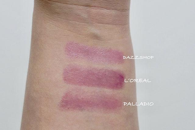 DAZZSHOP .L%5COREAL .PALLADIO紫外光唇膏 紫色透明唇膏07.jpg