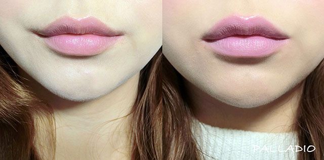 DAZZSHOP .L%5COREAL .PALLADIO紫外光唇膏 紫色透明唇膏26.JPG