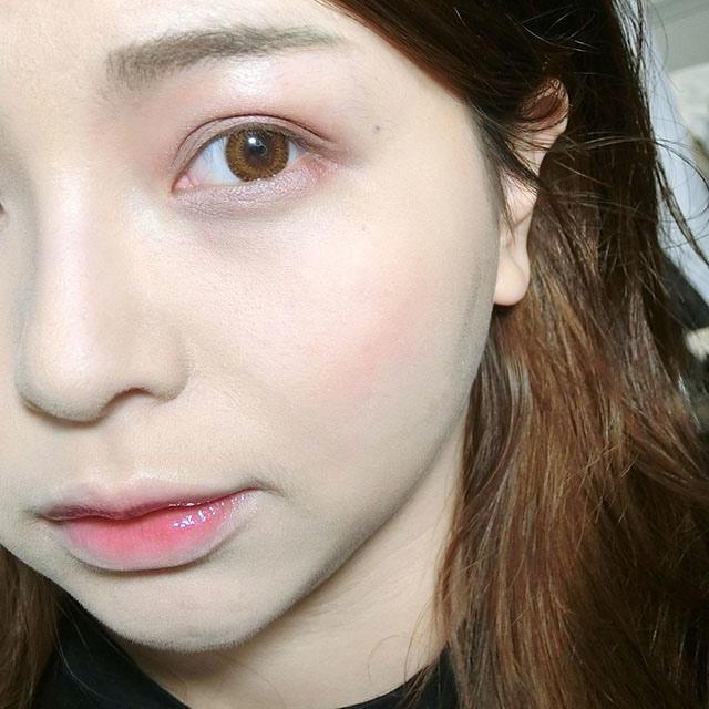 CANMAKE 完美色計眼影盤#14 紅色眼影意想不到的深邃15.JPG