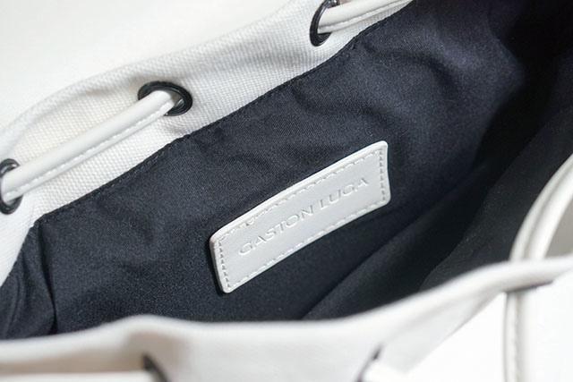 Gaston Luga白色後背包穿搭分享11.JPG