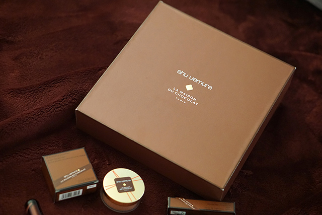 植村秀x梅森巧克力聯名聖誕彩妝- shu uemura x La Maison Du Chocolat01.JPG