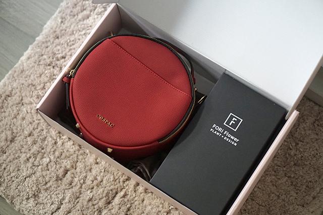 COSPAC貝果小圓包 紅色 聖誕禮盒|HC STORE02.JPG