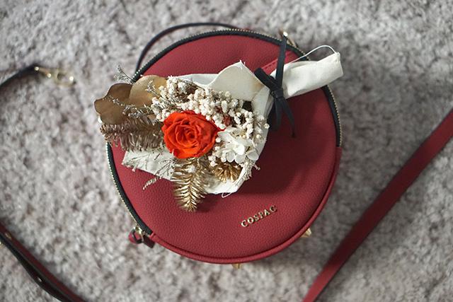 COSPAC貝果小圓包 紅色 聖誕禮盒|HC STORE10.JPG