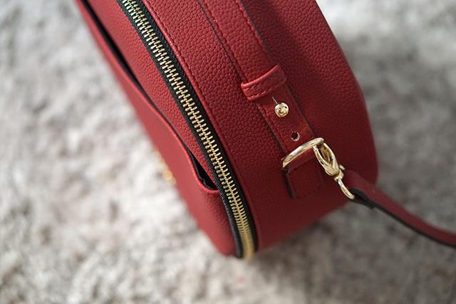 COSPAC貝果小圓包 紅色 聖誕禮盒|HC STORE21.JPG