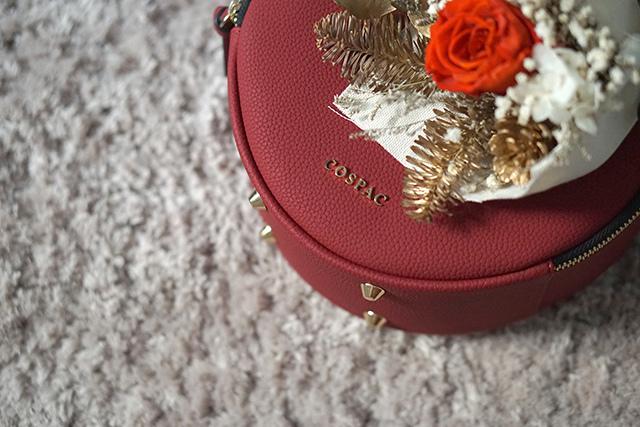 COSPAC貝果小圓包 紅色 聖誕禮盒|HC STORE26.JPG