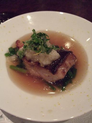 主菜(魚)
