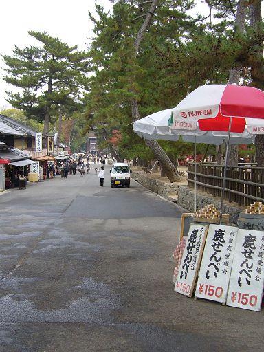 東大寺前的參道