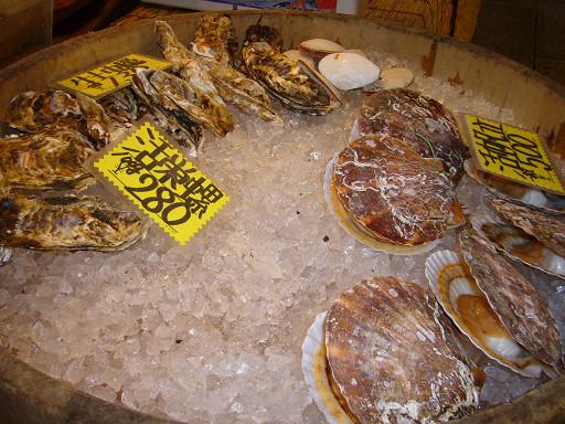 新鮮的食材,讓客人可以當場現點現烤現吃