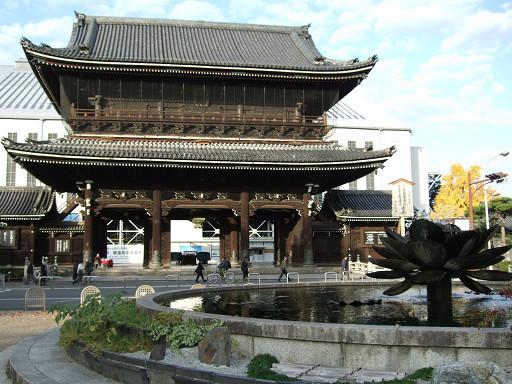 擁有「世界最大規模的木造建築御影堂」的東本願寺,是我們在京都的最後一個行程