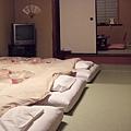 進房時,已經鋪好了棉被