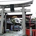 位於大和大路通上的惠美須神社。