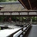 位於京都市北面的上賀茂神社,是個擁有千年歷史的古老神社。