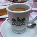 帶有微酸口感的INODA招牌咖啡「阿拉伯珍珠」。