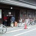京都知名的老牌咖啡館INODA  COFFEE,町家風的建築十分有型。