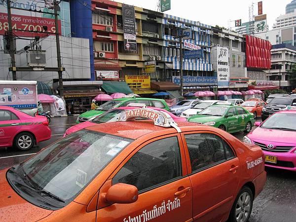 下雨的曼谷