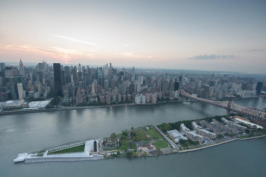 Roosevelt-Island-Four-Freedoms-Park-Aerial