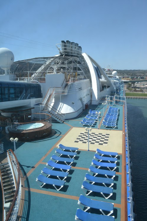 NP Starboard View of Ship from Skywalkers