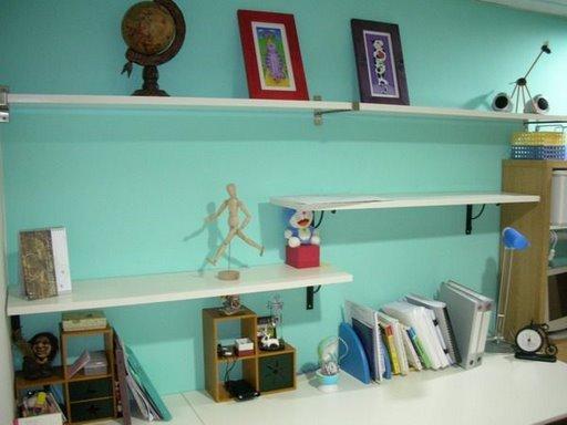 DIY的書房
