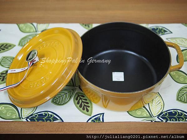 Staub 圓形鑄鐵鍋-芥末黃