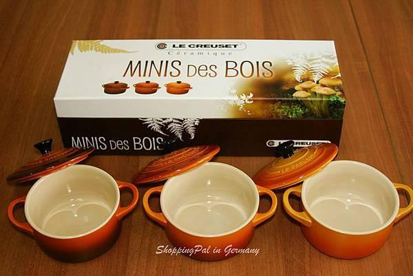 LE CREUSET Mini三件組-橘