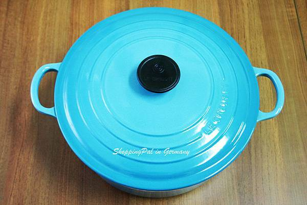 LE CREUSET 圓形鑄鐵鍋-加勒比海藍