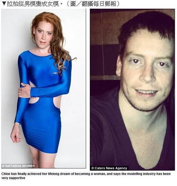 從男模變女模2