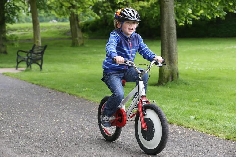 自動平衡腳踏車2