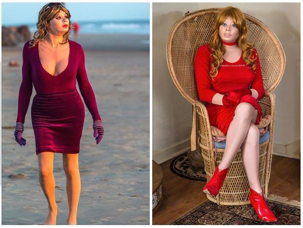 乳膠衣變女人2