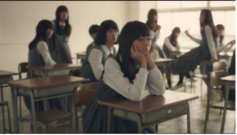 女高中生全班卸妝2