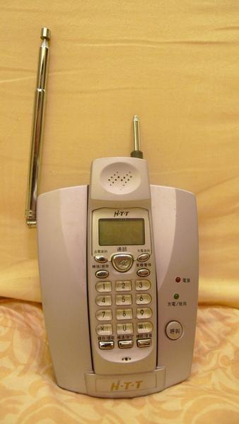 已賣出-No. 4: 5成新, 無線來電顯示電話. NT150